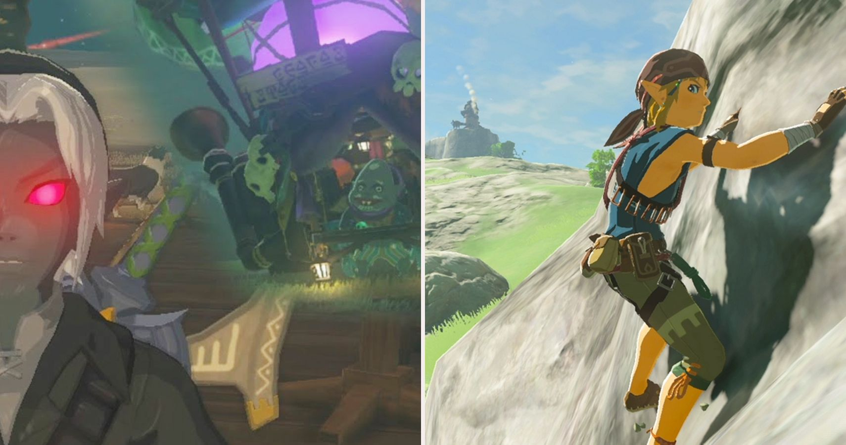 breath of the wild climbing gear location