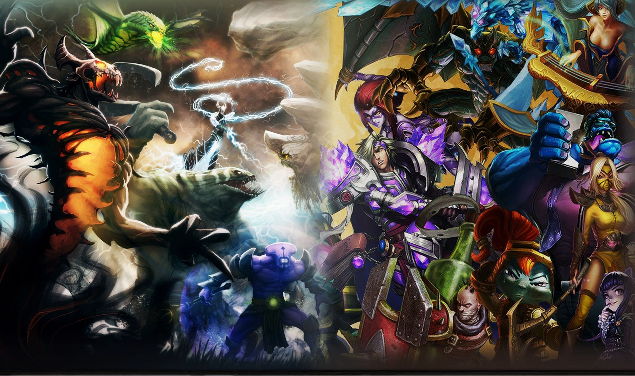 League of Legends: 8 Ways It Is Better Than DOTA2 and 7 Ways It Is Not