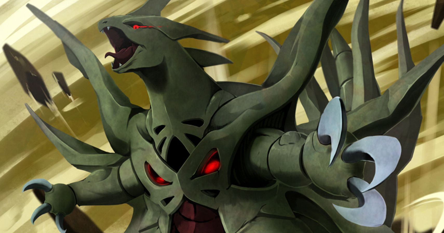 Most intimidating looking pokemon pictures