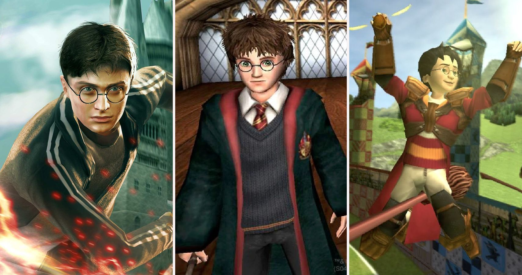 The Best And Worst Harry Potter Games | TheGamer