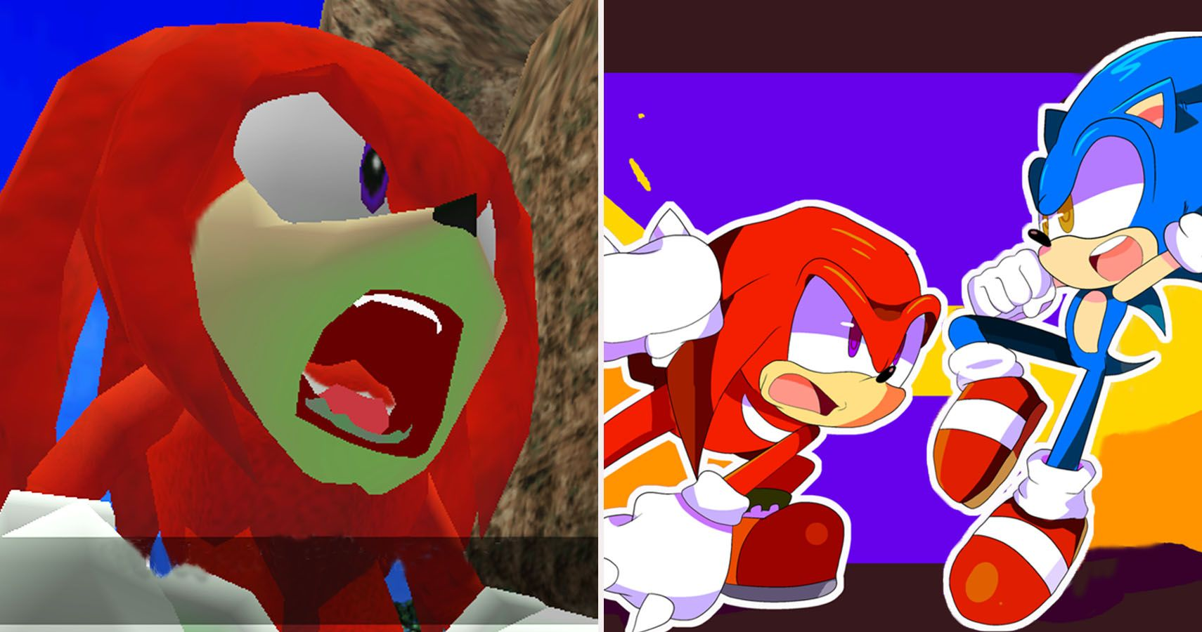 Things Knuckles Can Do That Sonic Can T Thegamer