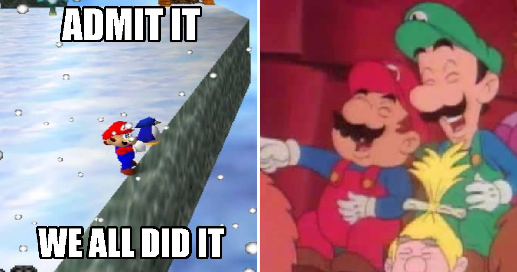 The Most Hilarious Super Mario Memes Ever | TheGamer