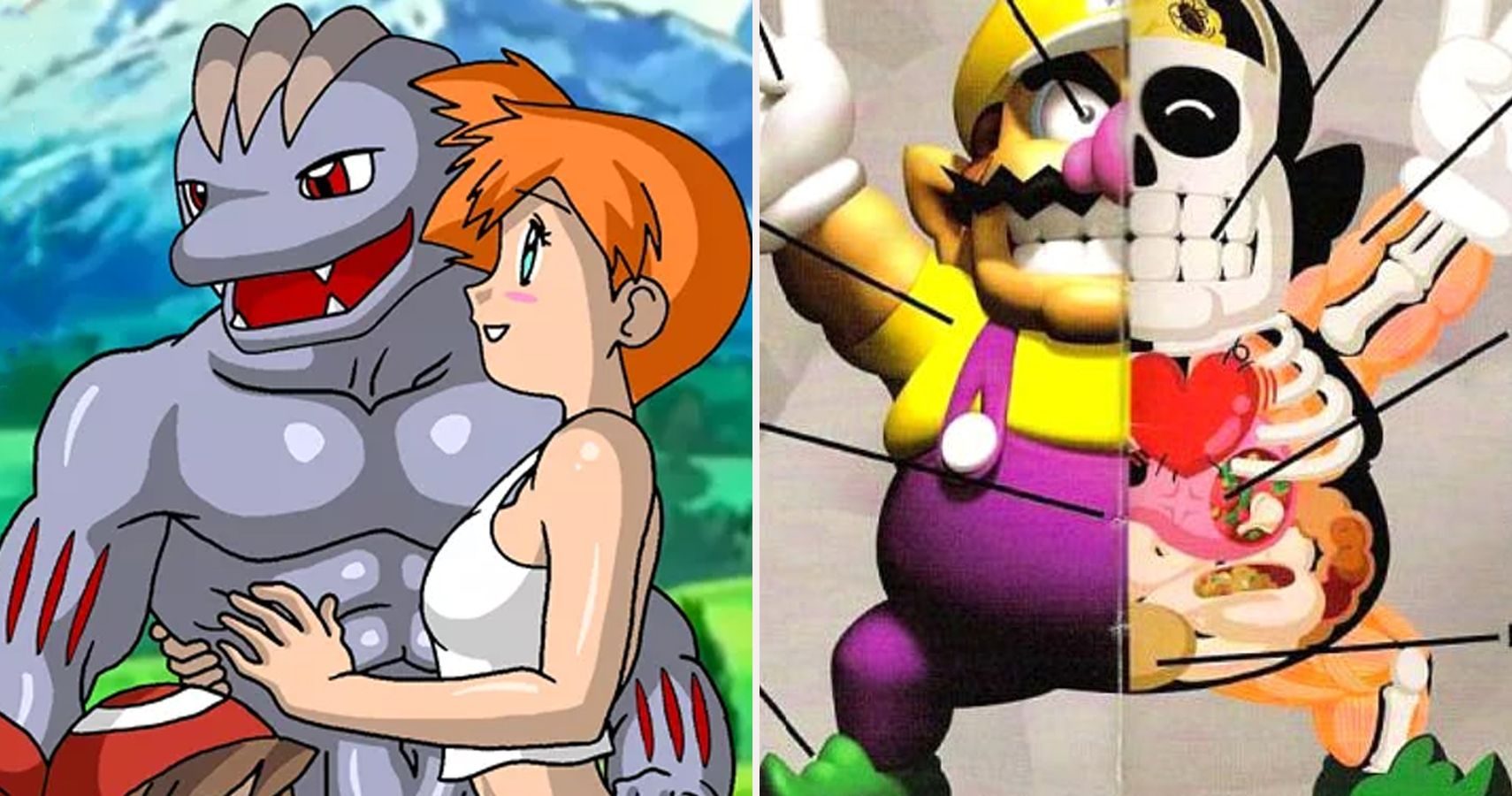 Completely Inappropriate Moments In Nintendo Games