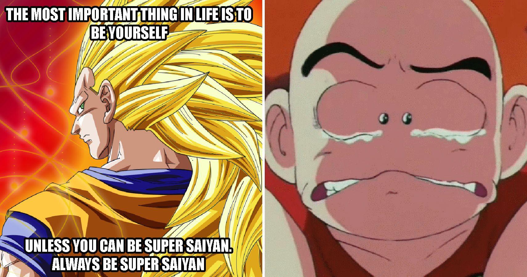 Saiyan Level: Hilarious Dragon Ball Final Form Memes Only