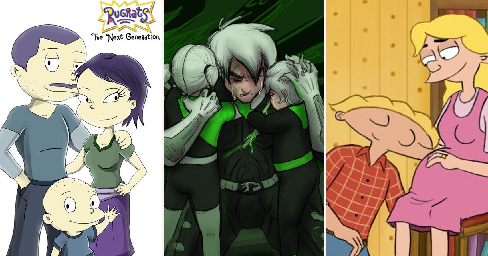 All Grown Up: Nickelodeon Characters Imagined As Parents