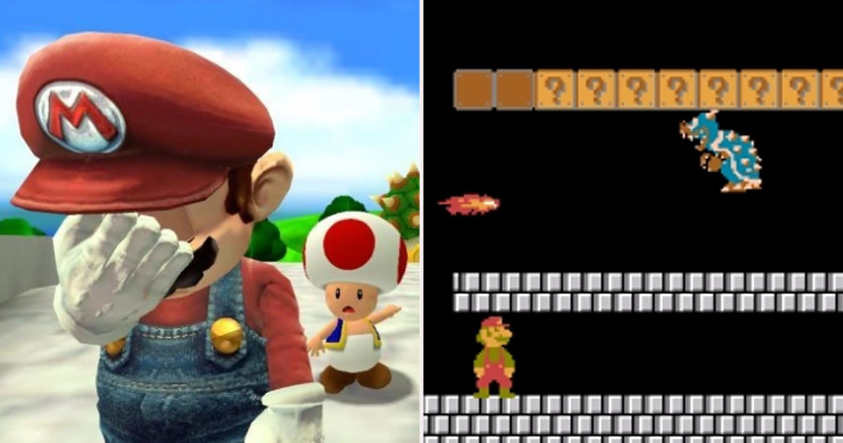 Mind-Blowing Mistakes You Never Noticed In The Super Mario