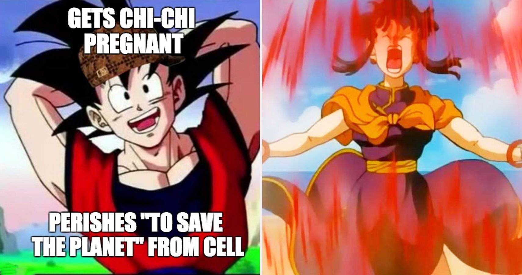 Goku and chichi divorce