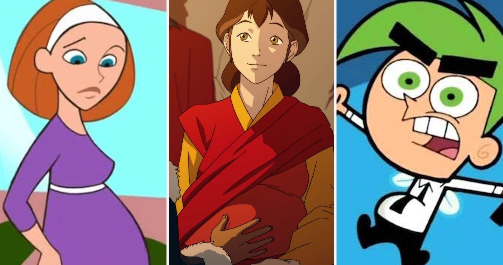 24 Weird Times Pregnancy Showed Up In Kids Cartoons | TheGamer