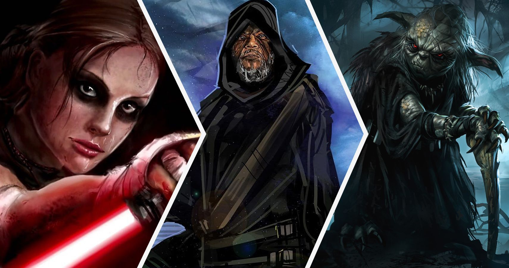 20 Star Wars Heroes Reimagined As Sith Lords | TheGamer