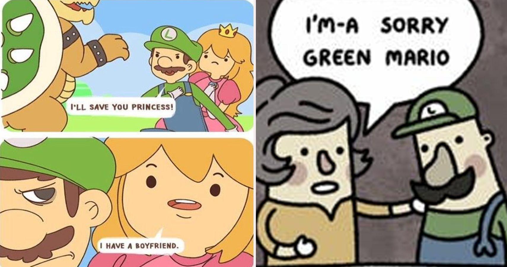 Family Feud 25 Hilarious Mario Vs Luigi Memes That Make