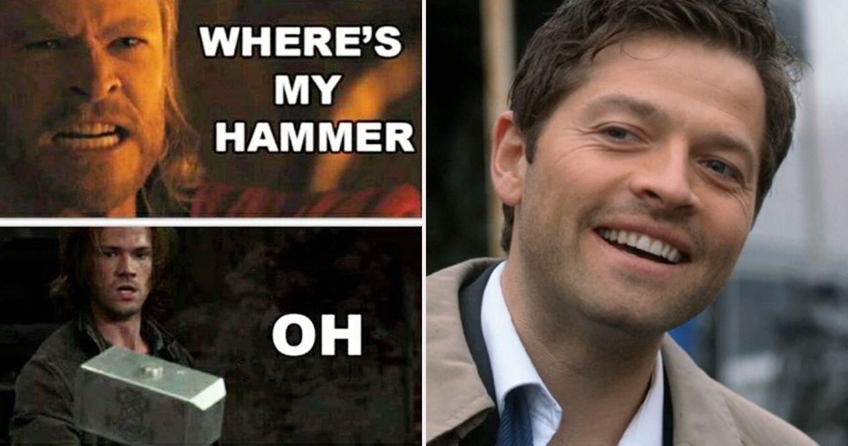 28 Hilarious Supernatural Memes That Would Even Make Castiel Laugh