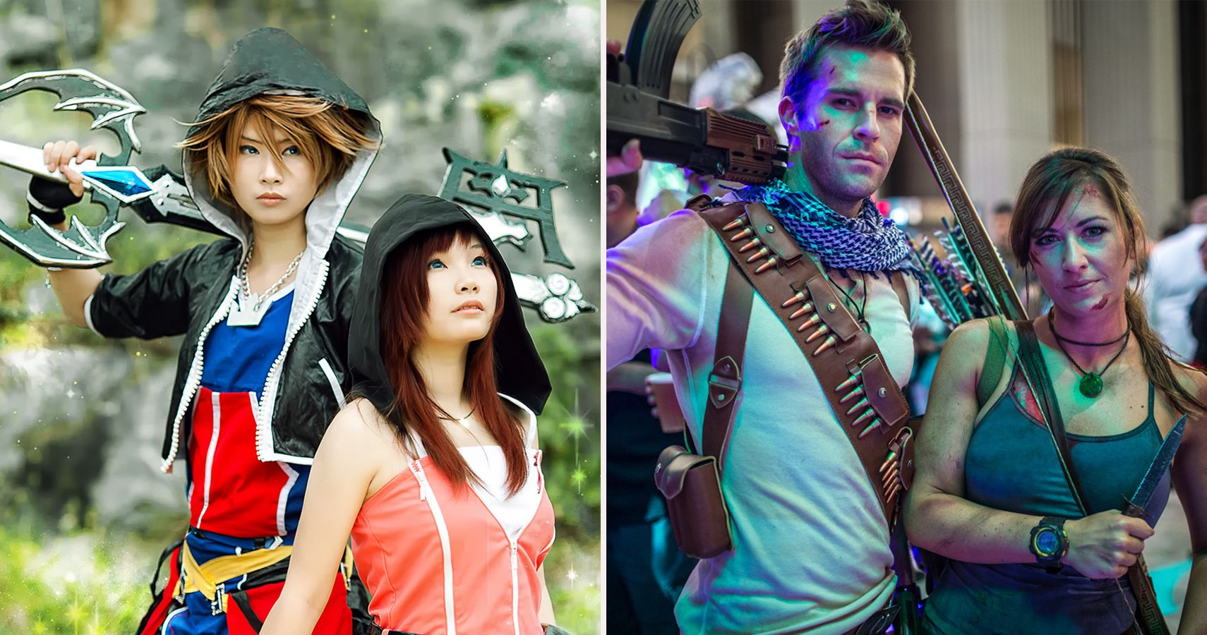 20 Video Game Couple Cosplays That Are #RelationshipGoals