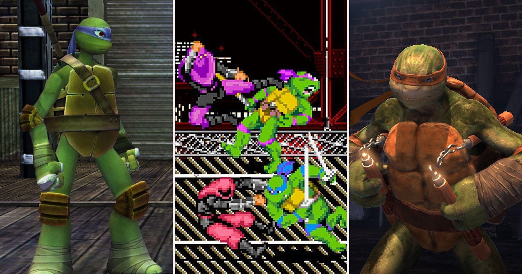 The 11 Weirdest Teenage Mutant Ninja Turtles Games And The 9 Best