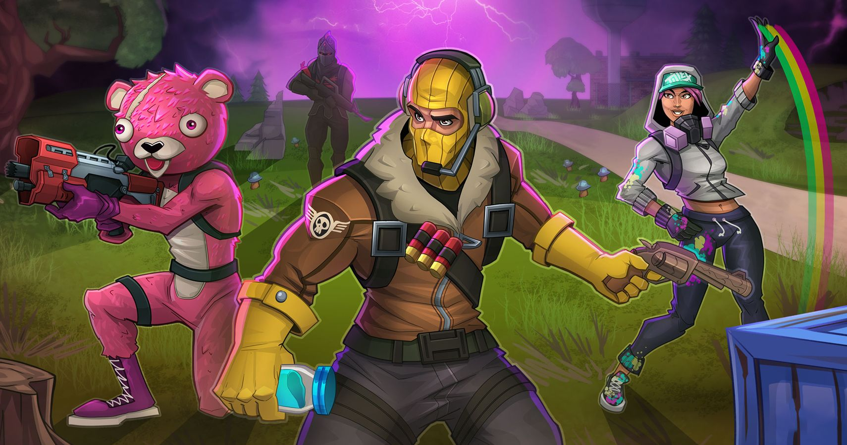 30 Epic Fortnite Fan Pictures That Are Ready For Battle Royale