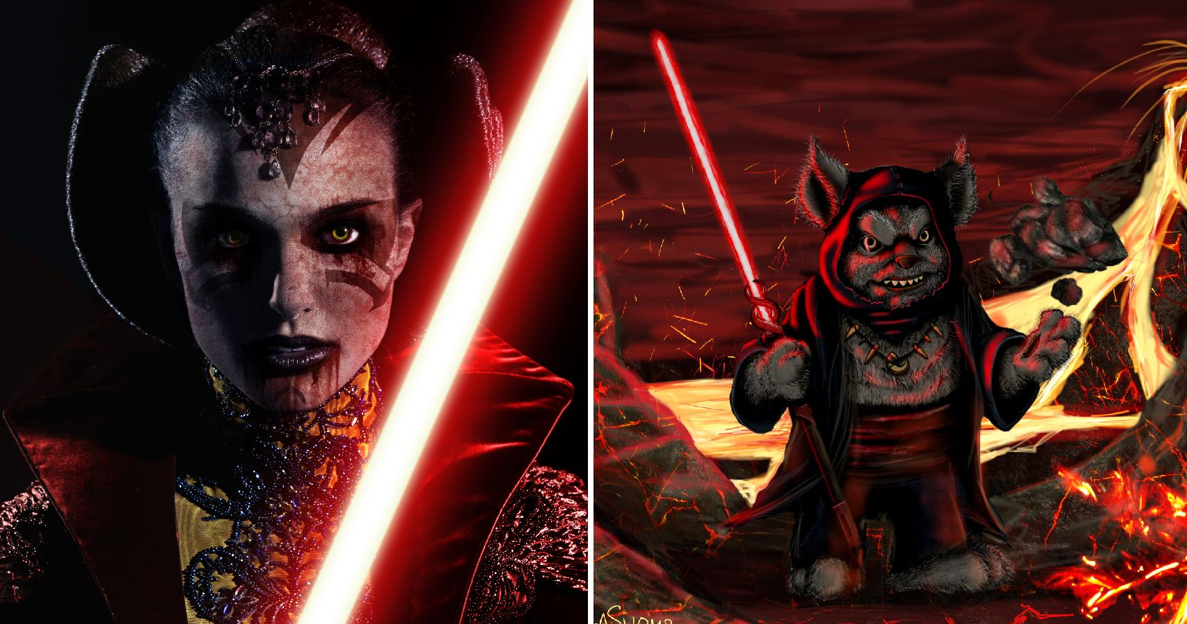 24 Star Wars Heroes Reimagined As Sith Lords | TheGamer