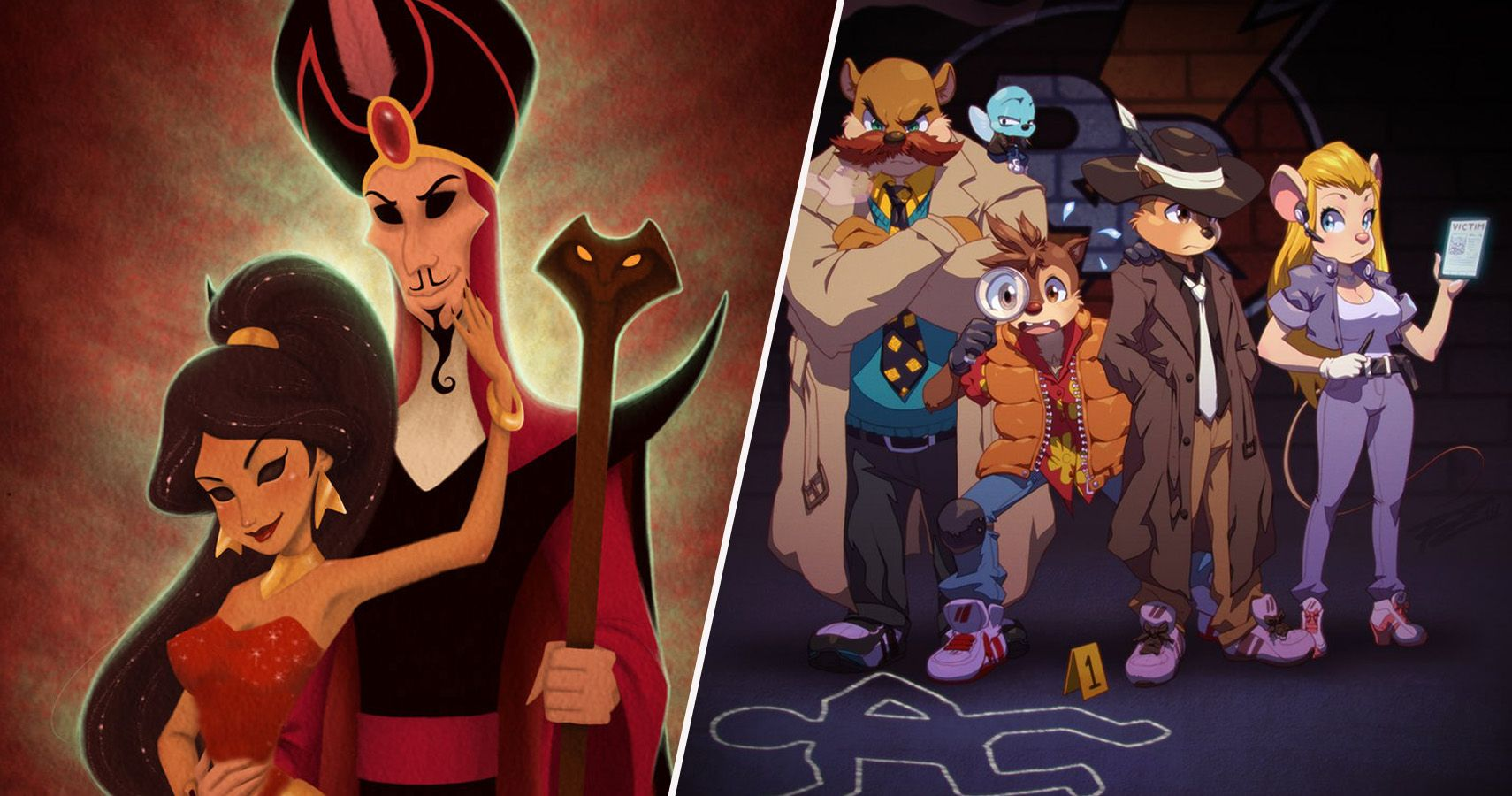 20 Disney Afternoon Characters Reimagined As Villains