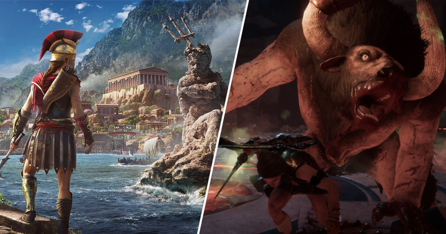 assassins creed odyssey minotaur de force