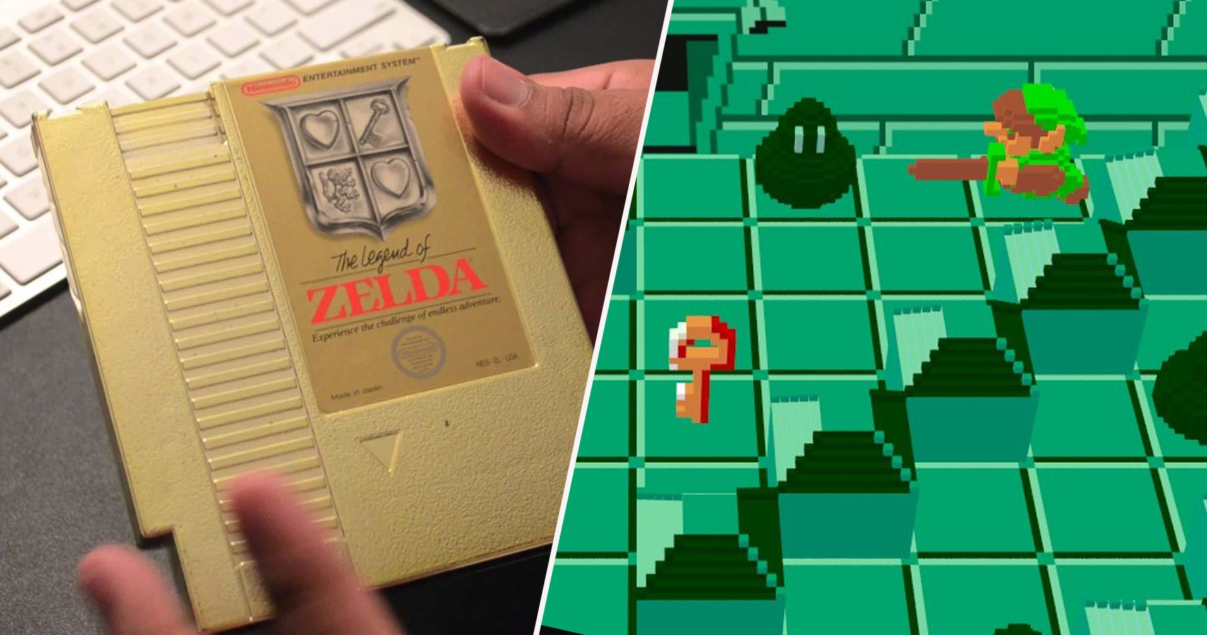 26 Hidden Details In The Original Legend Of Zelda Game Real Fans