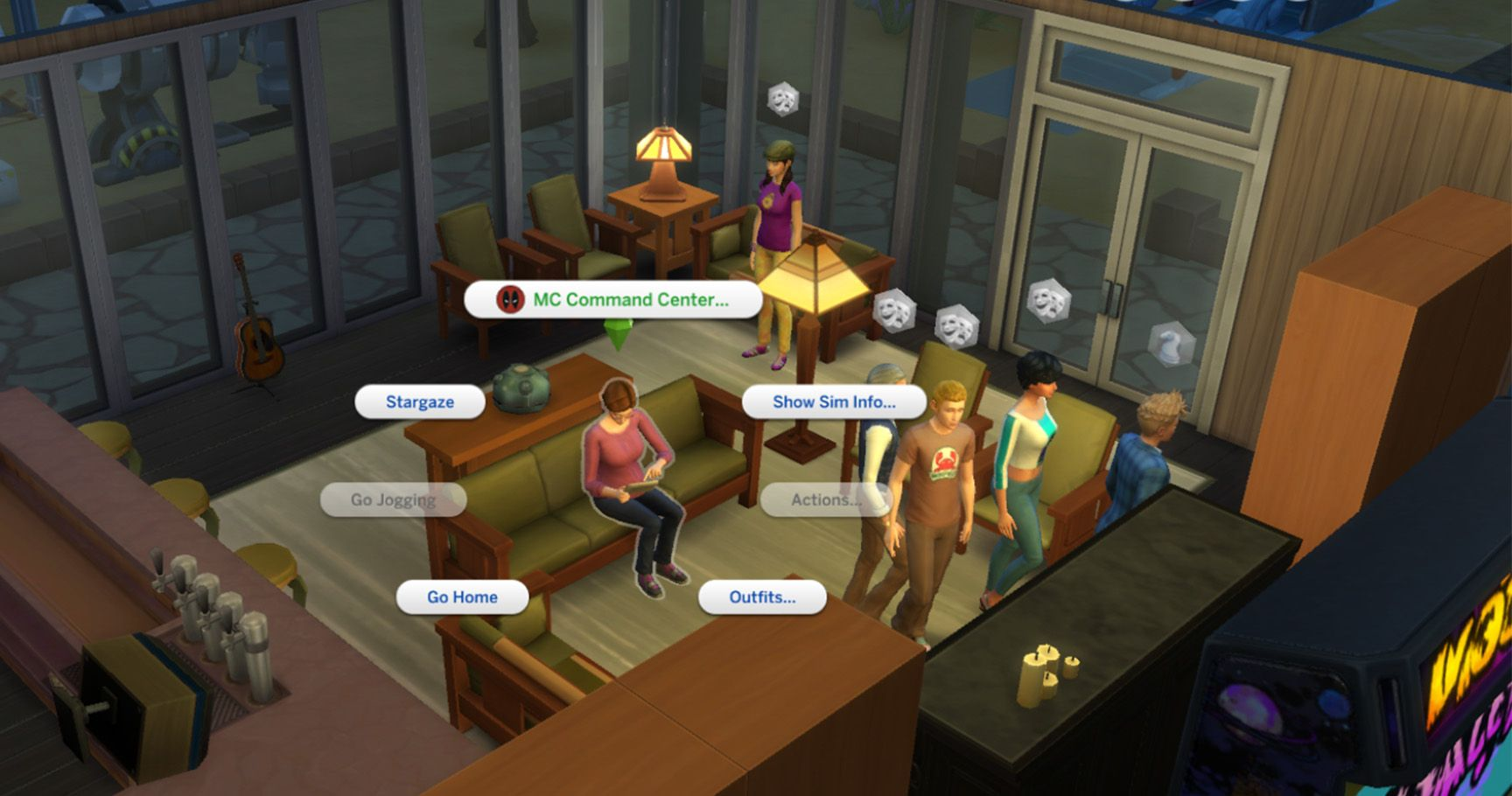 Sims 4 mod woohoo with anyone