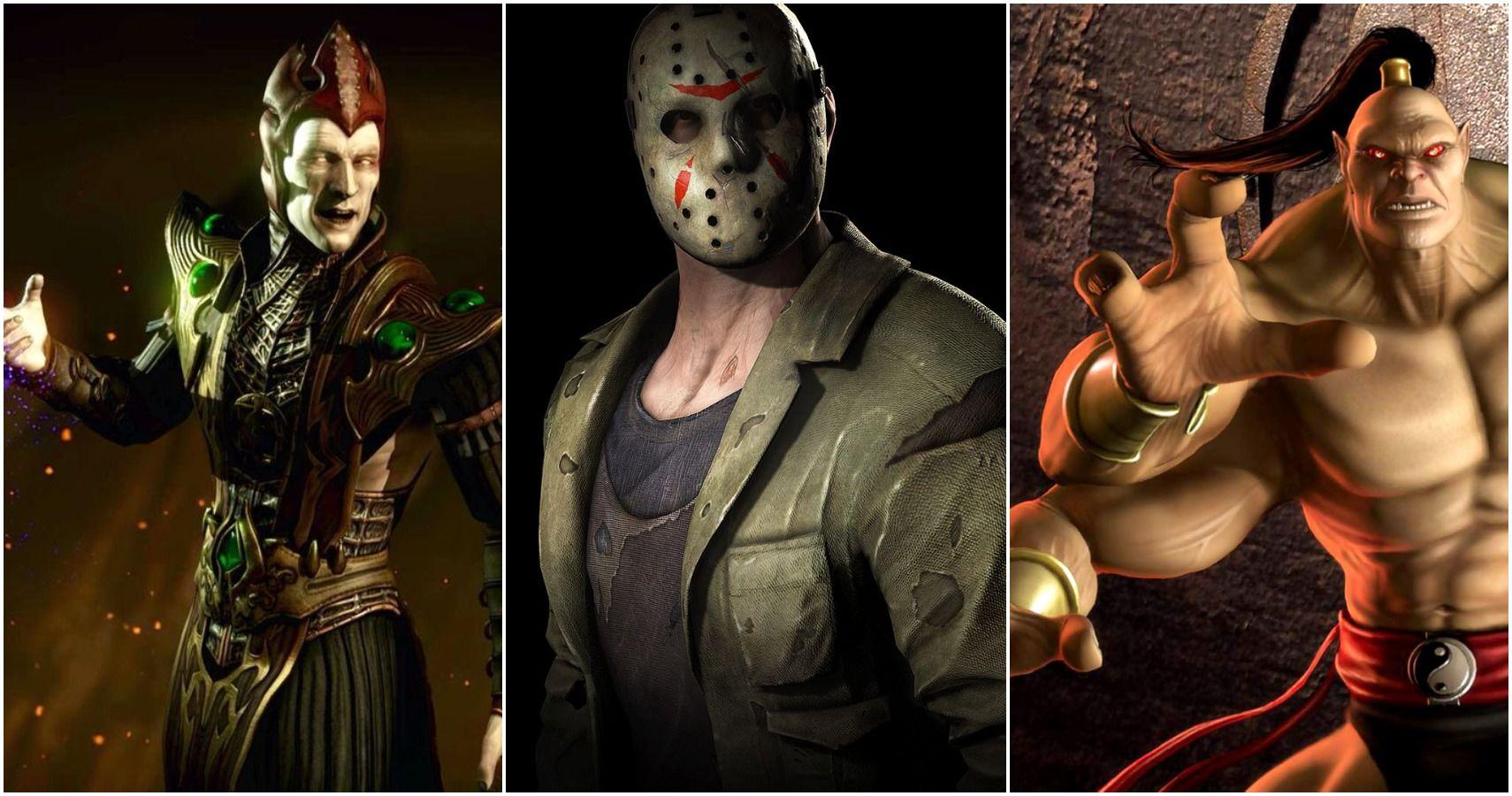 10 Mortal Kombat Characters Missing From MK 11 | TheGamer