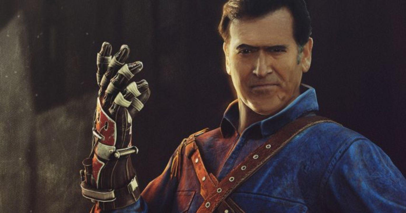 Bruce Campbell Says Evil Dead S Ash Won T Be Mortal Kombat 11 Dlc