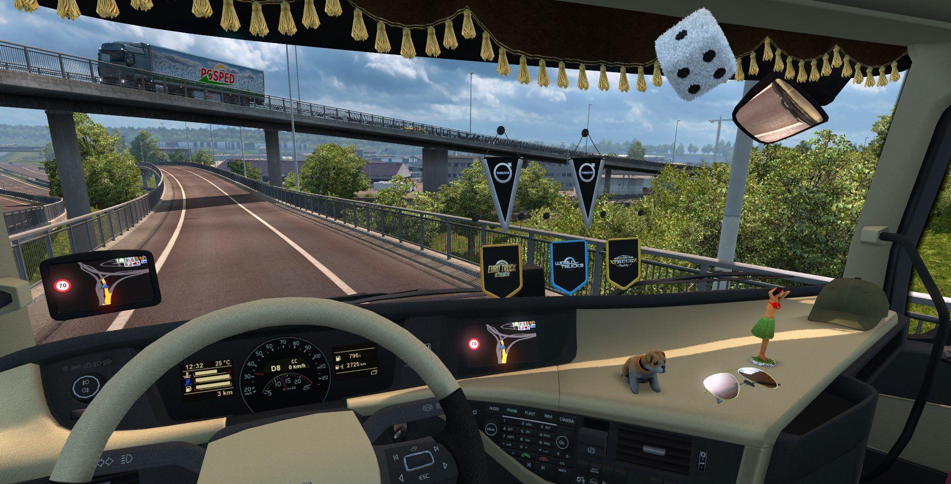 Euro Truck Simulator 2's GPS Might Sound Familiar Since It's