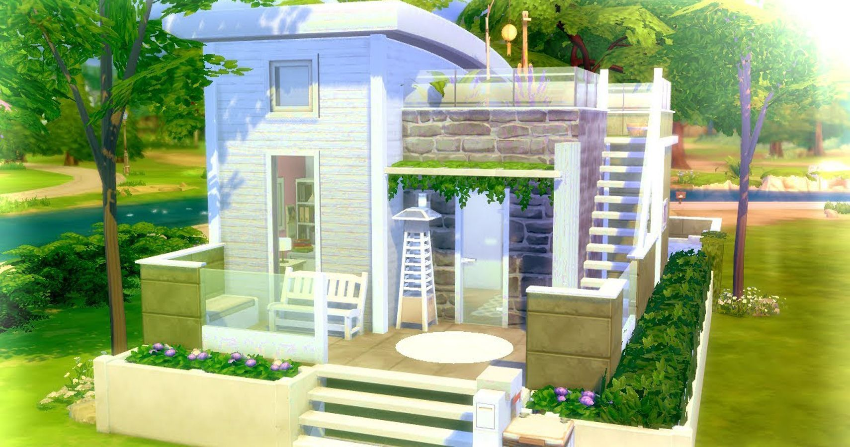 Sims 24: 24 Completely Functional Tiny Homes (That Use No Custom