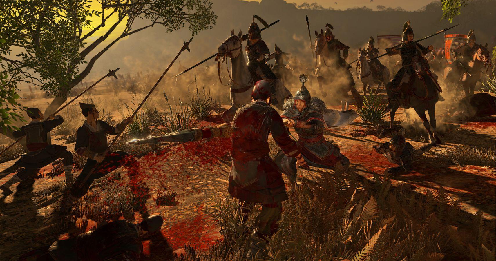 Total War: Three Kingdoms' New Reign In Blood DLC   TheGamer