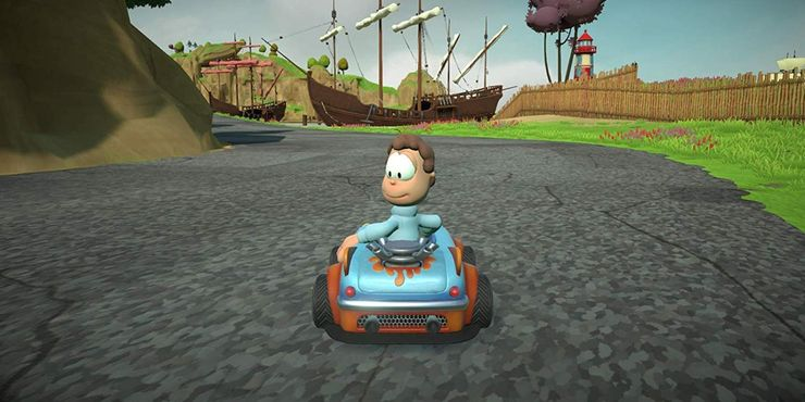 Garfield Kart Is Getting A Sequel Are Mario Kart S Days Numbered