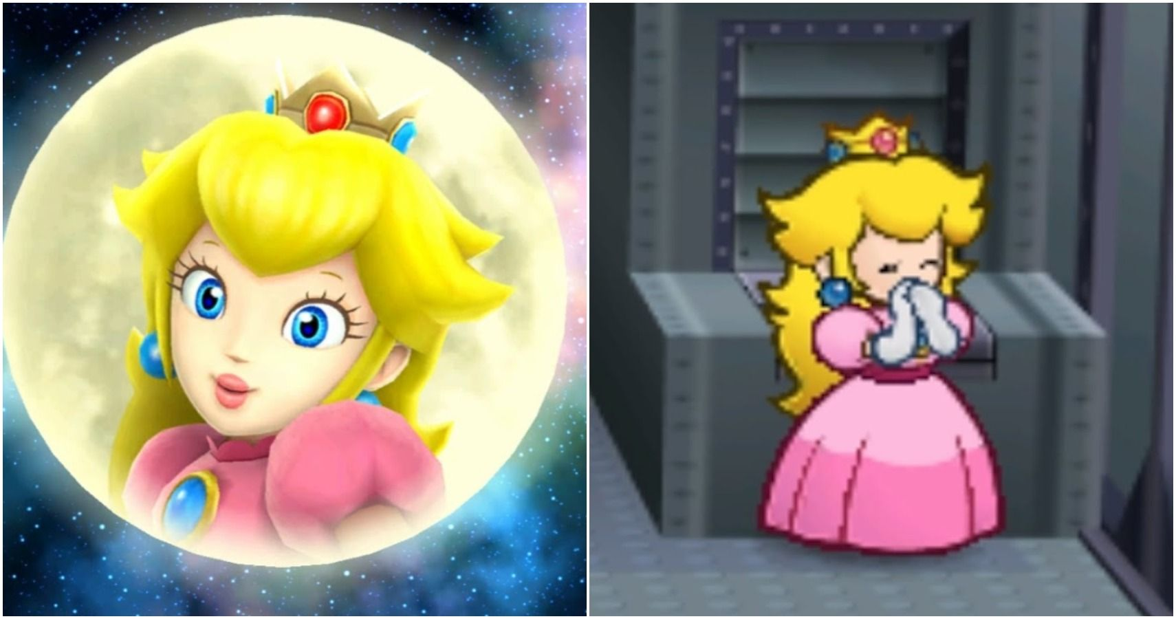 mario odyssey inside peachs castle princess peach