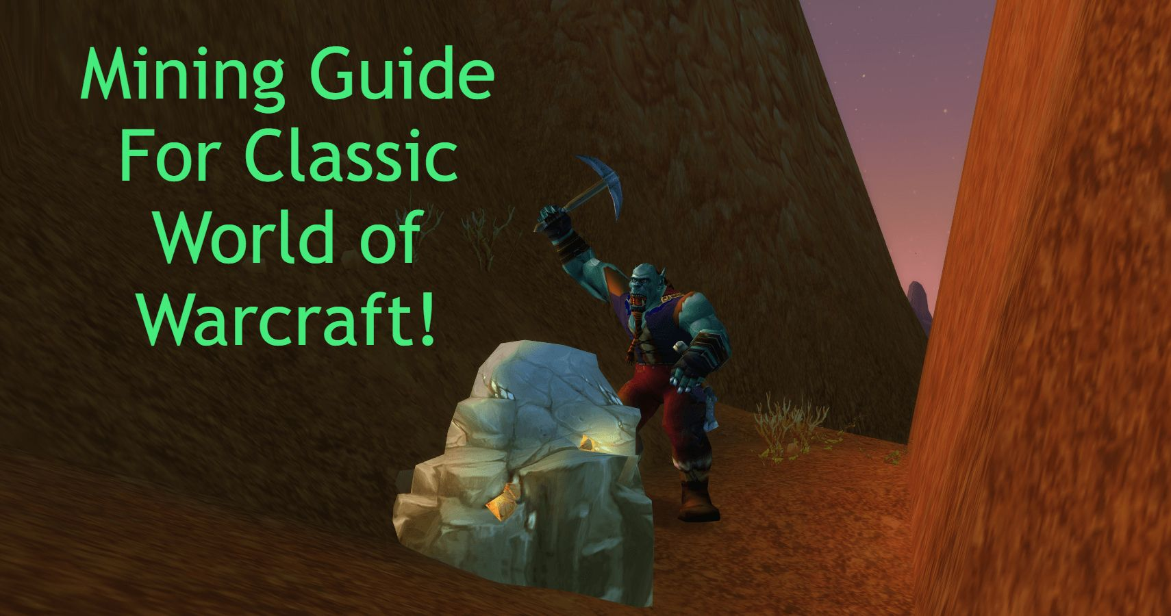 World Of Warcraft Classic Profession Guide: Mining   TheGamer