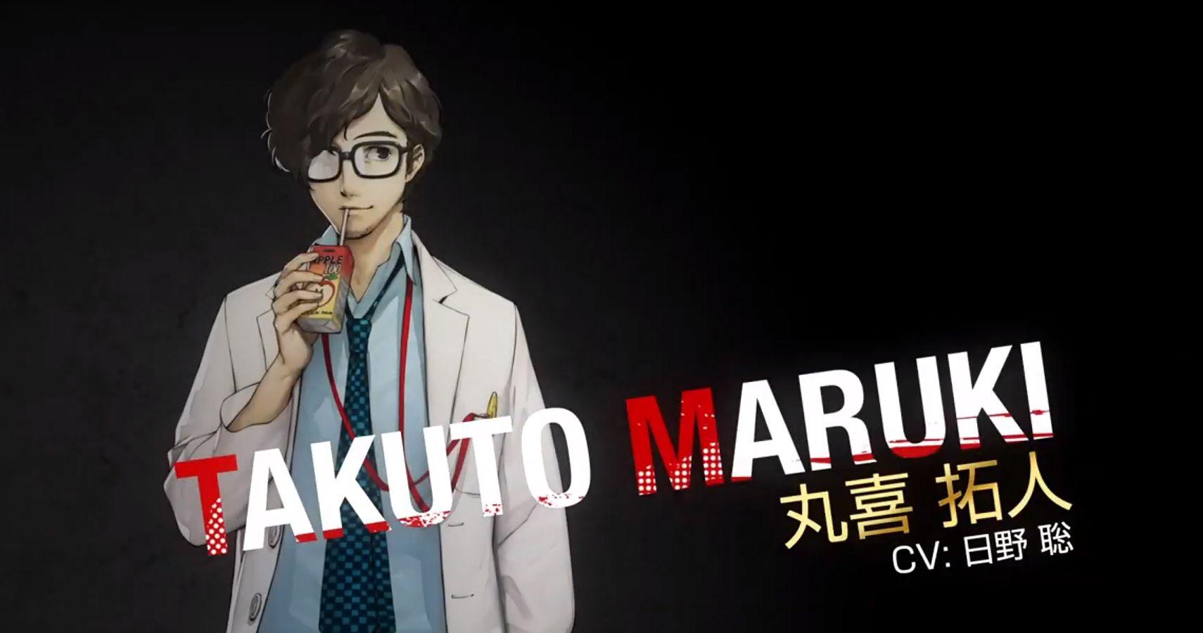 Persona 5 Releases Character Trailer For Salt Bae Takuto Maruki