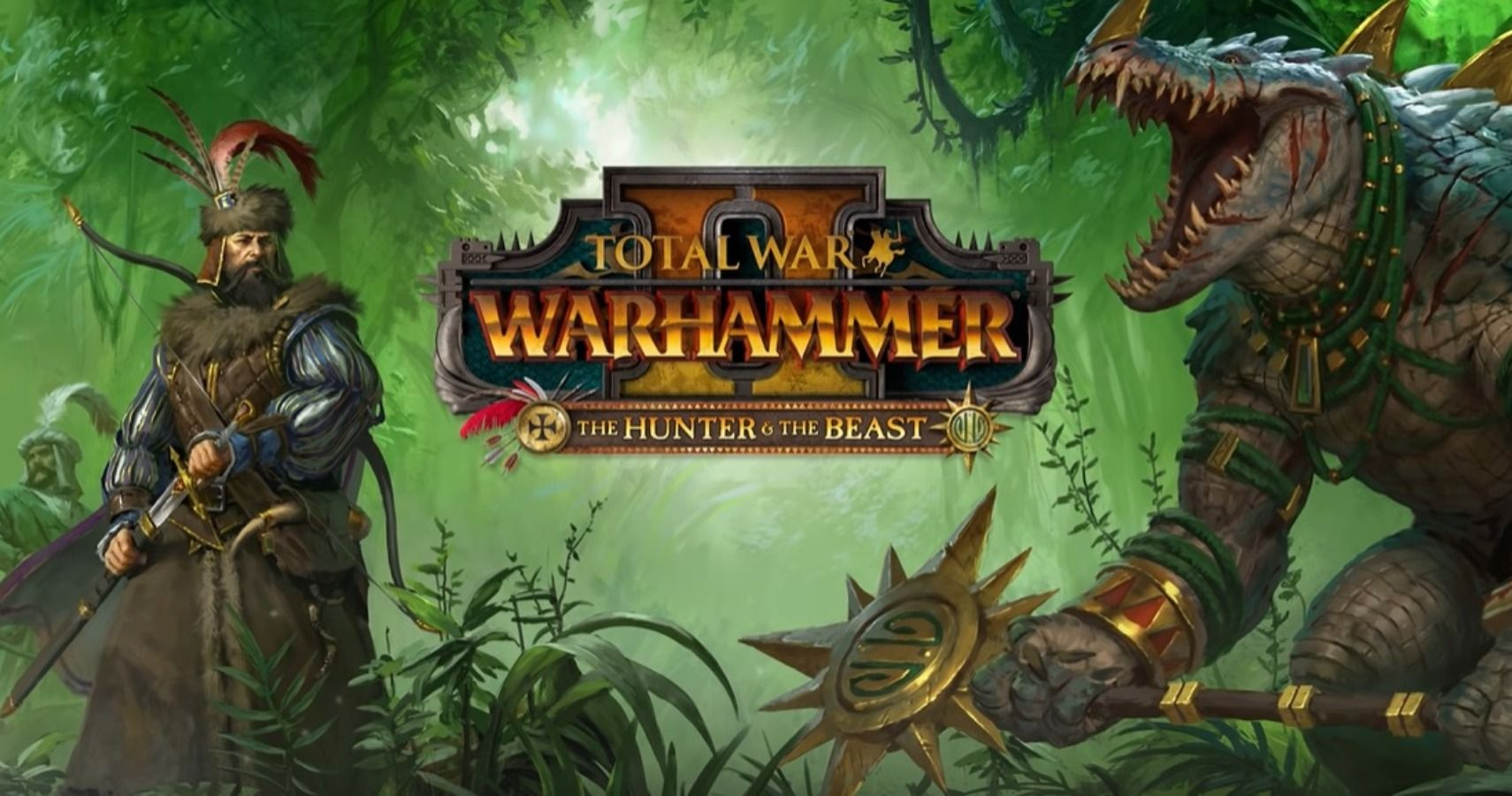 Total War Warhammer 2 The Hunter And The Beast Will Introduce New Lords Nakai the wanderer, sacred kroxigor of the first spawning is an albino kroxigor with unusually thick skin, even for a kroxigor. total war warhammer 2 the hunter and