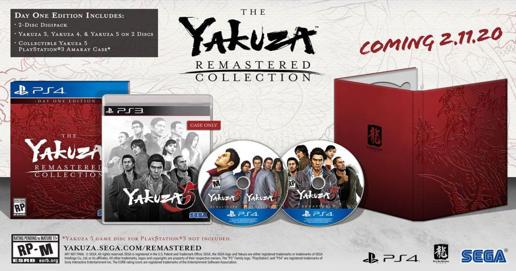 Yakuza Remastered Collection Announced For PS4, Adds Never