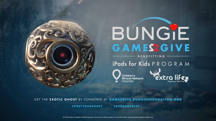 Bungie Game2Give