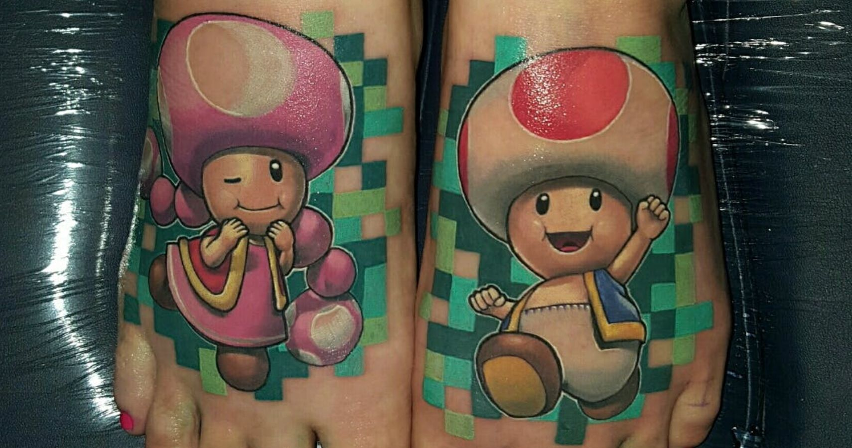 10 Super Mario Tattoos That Deserve A 1up Ranked Thegamer