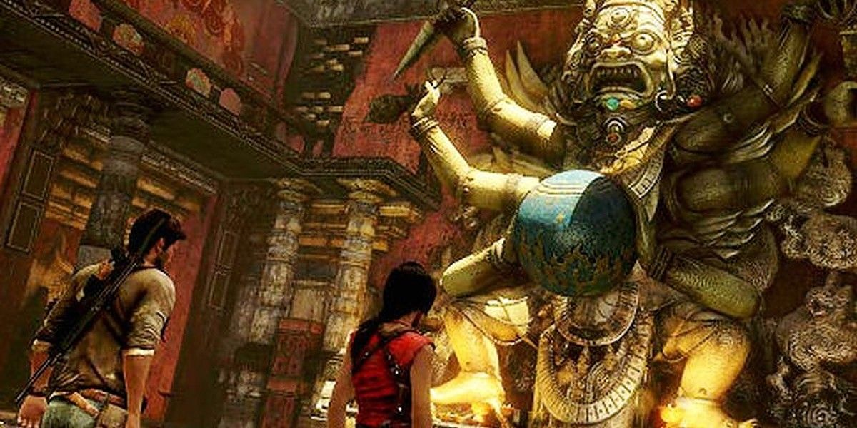 Uncharted 10 Best Puzzles From The Series Thegamer