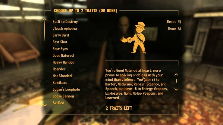 Fallout New Vegas Perk Requirements