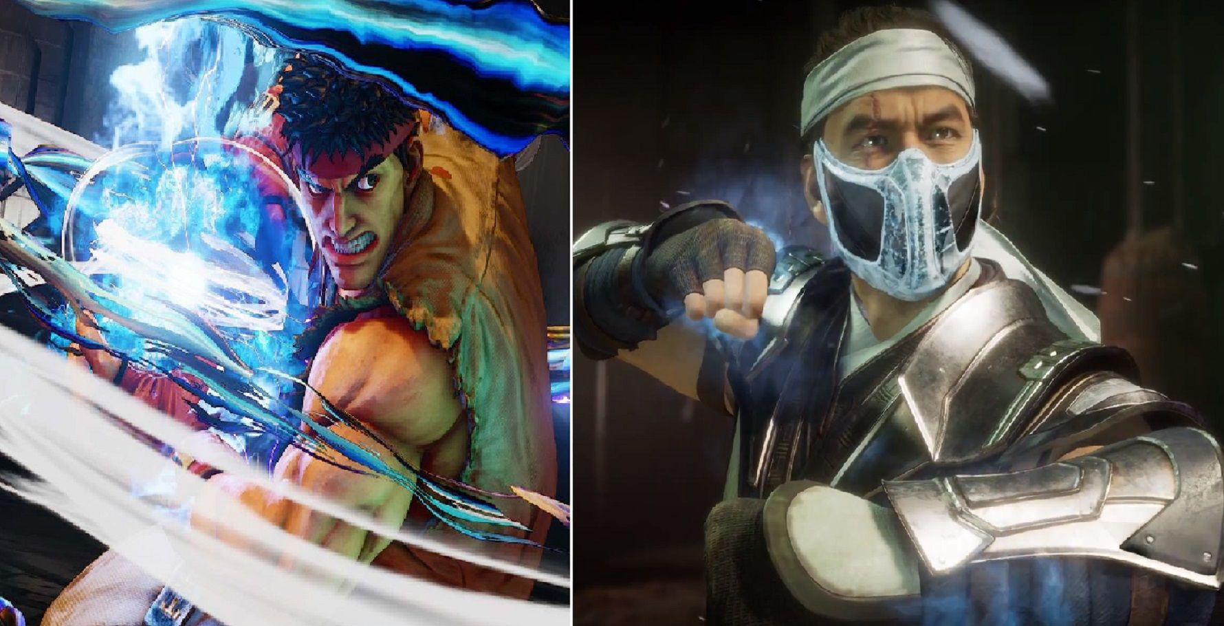 10 Street Fighter Vs Mortal Kombat Fights We D Love To See