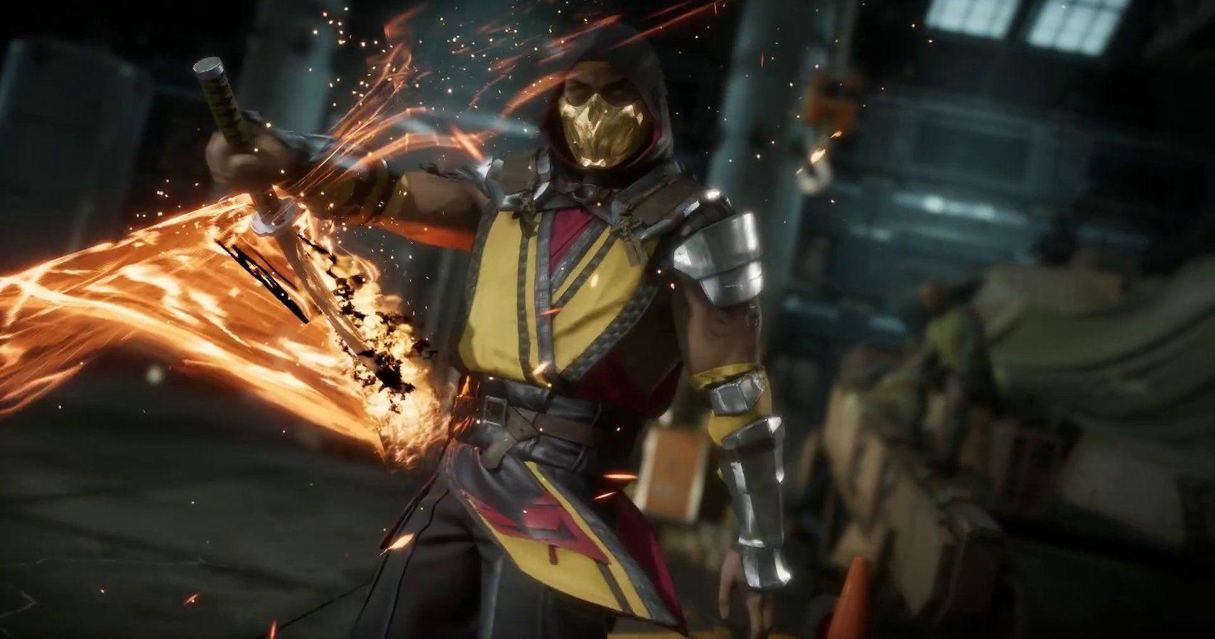 Mortal Kombat 10 Best Special Attacks Of Scorpion Ranked