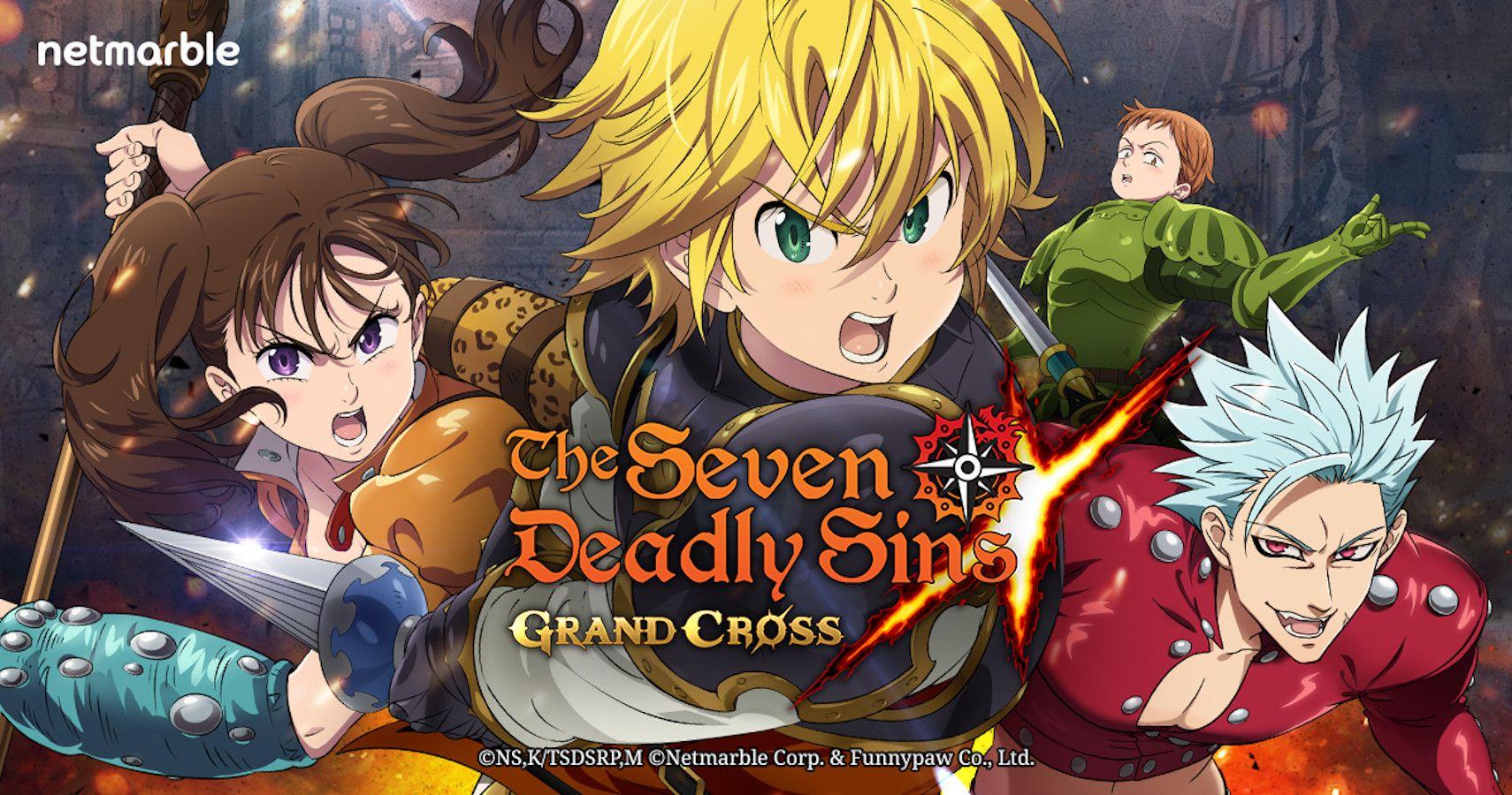 Seven Deadly Sins Grand Cross Review Thegamer