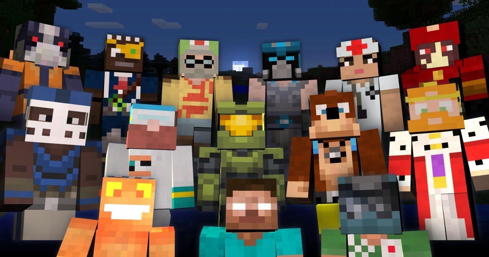 The 12 Best Skin Packs For Minecraft Bedrock Edition  TheGamer