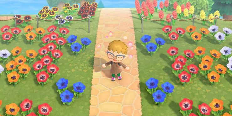 Garden Ideas Animal Crossing New Horizons - Hd Football