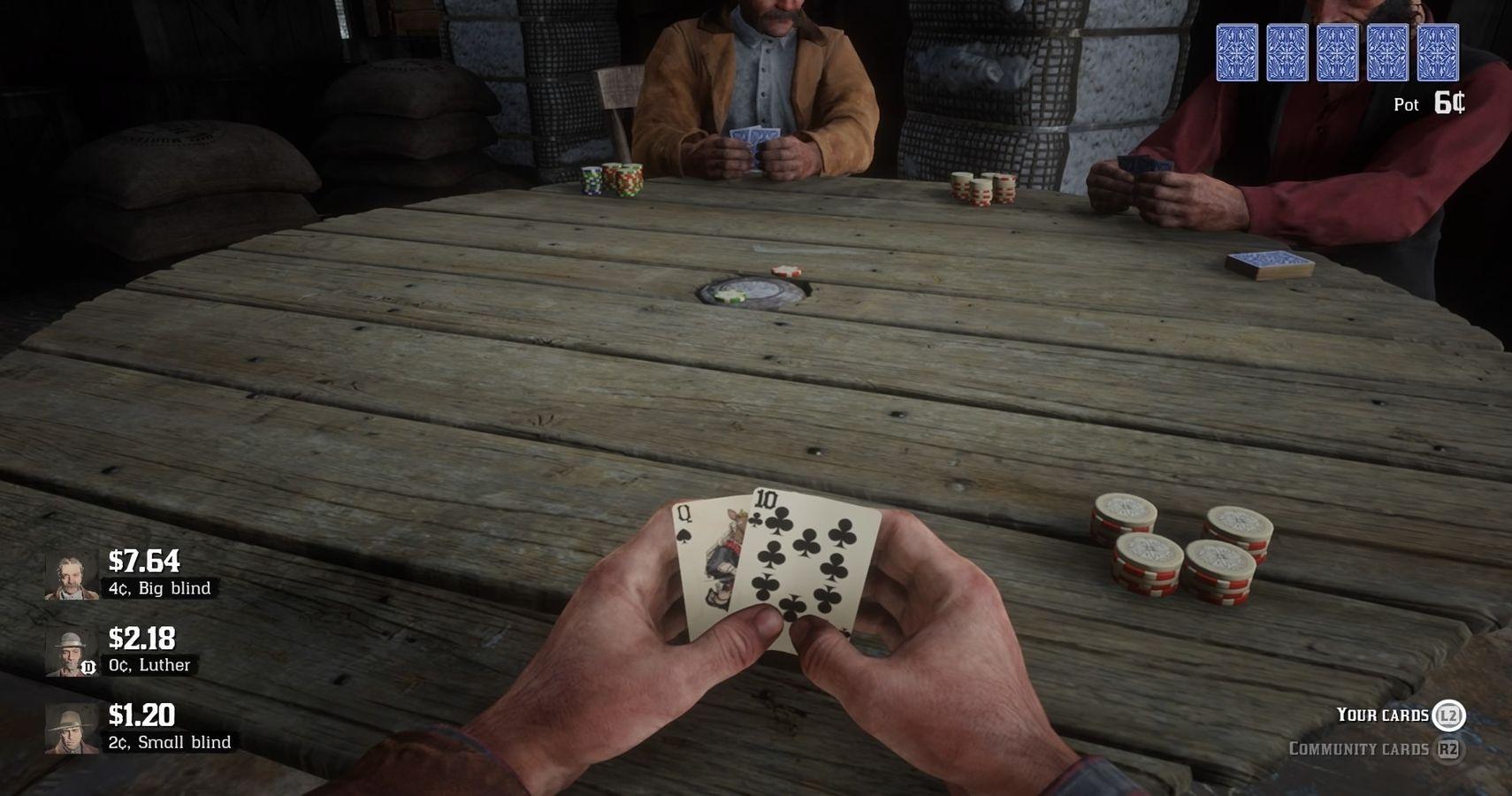 Red Dead Redemption Poker BetrГјgen