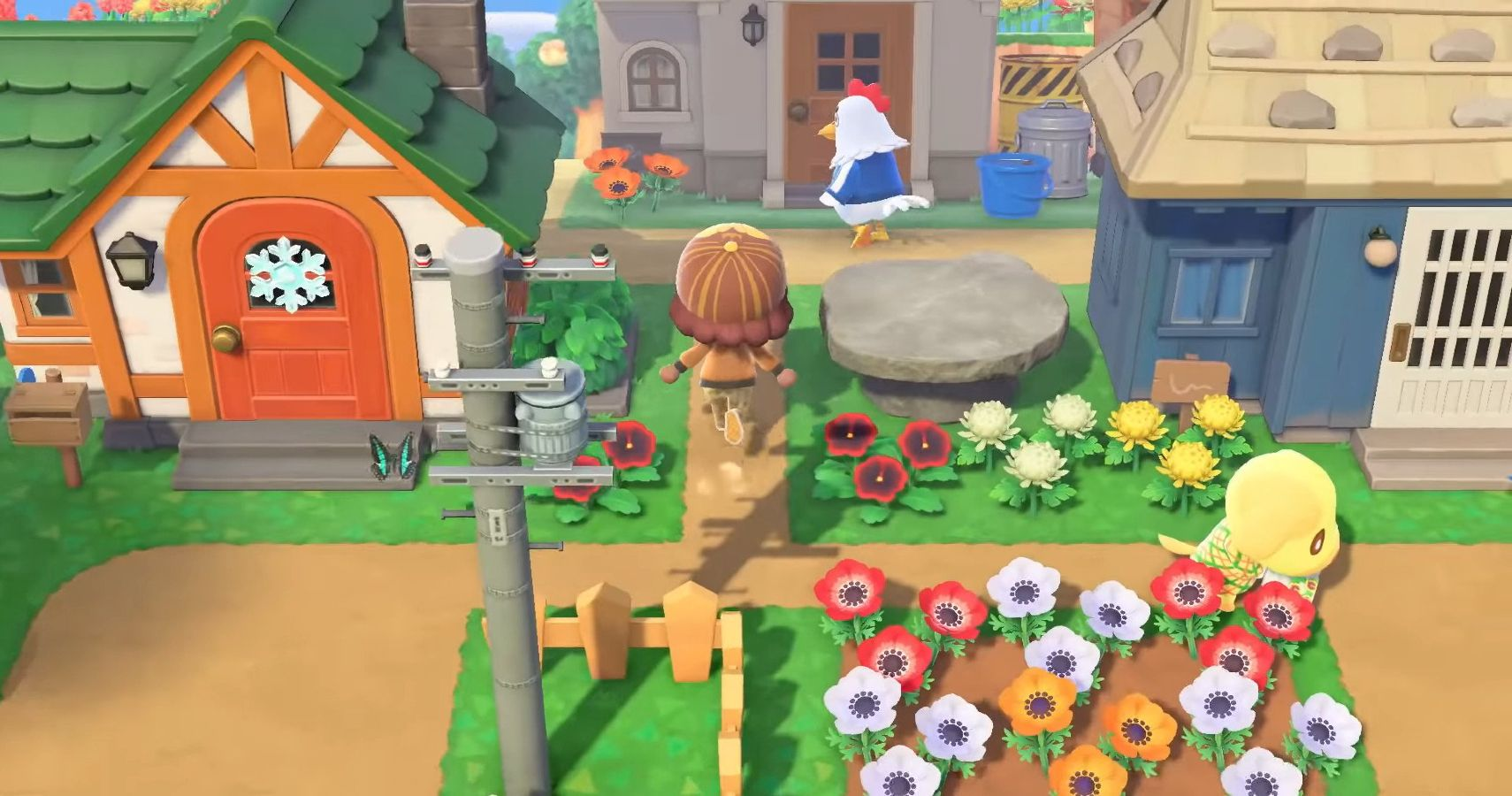 24+ Animal Crossing New Horizons Flower Garden Ideas ...