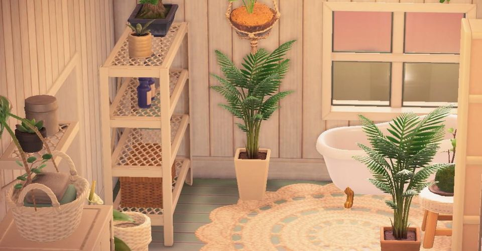 Animal Crossing New Horizons Copy This Design For A Perfect Bathroom