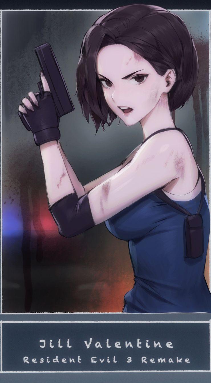 Resident Evil 10 Pieces Of Jill Valentine Fan Art We Love