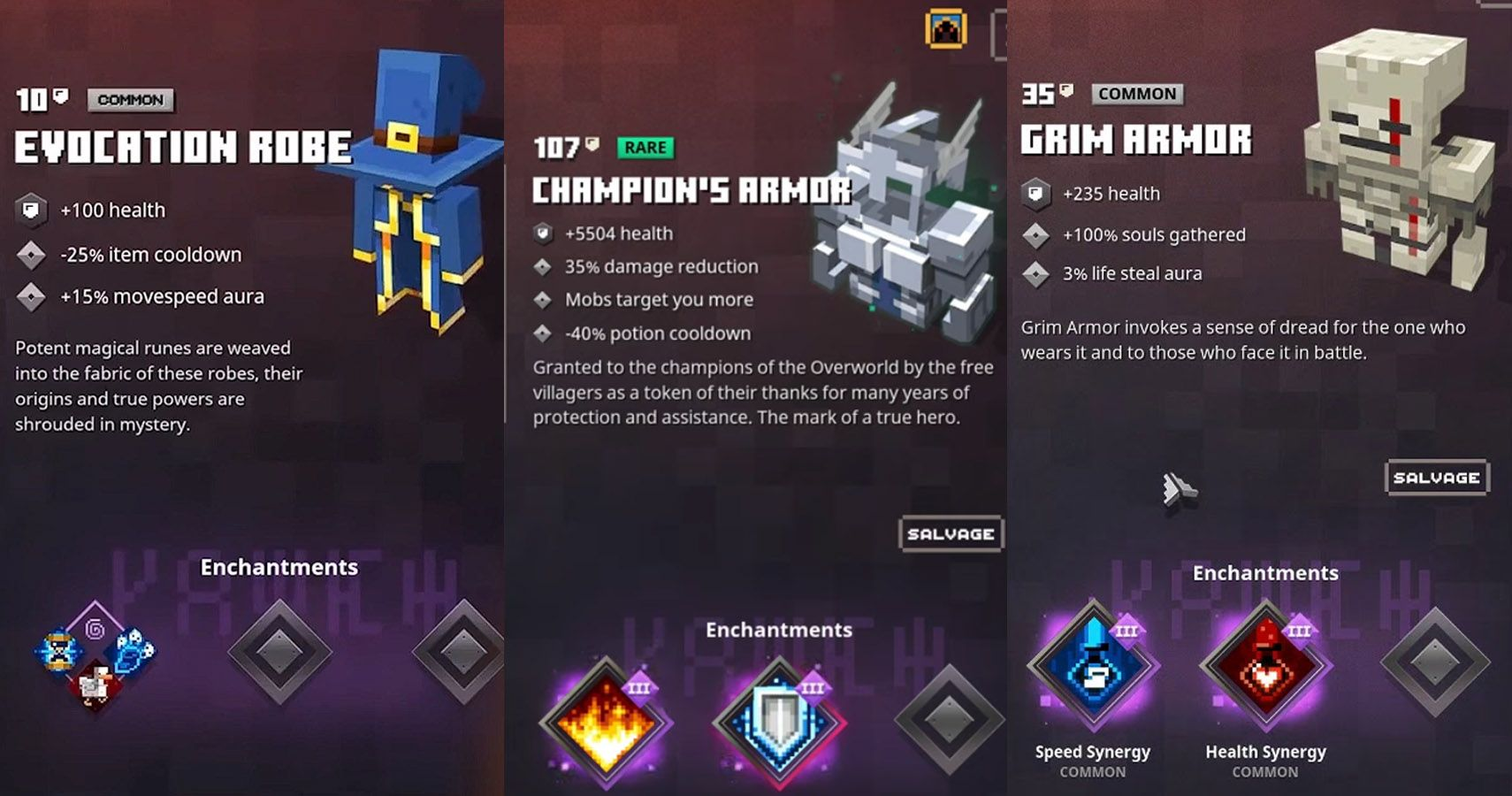 Ranking The 8 Best Minecraft Dungeons Armor Sets  TheGamer