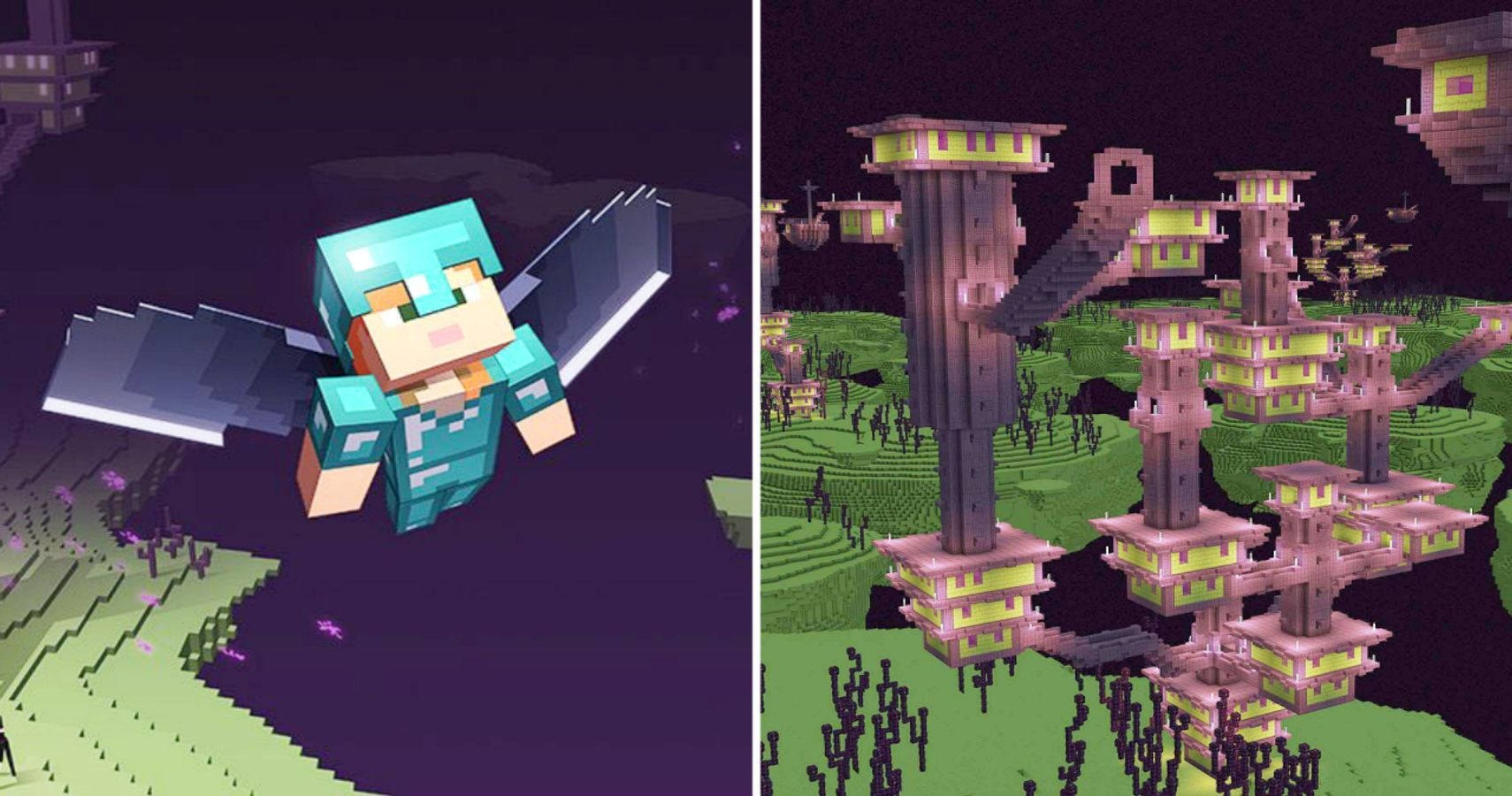 Minecraft How To Conquer An End City Thegamer