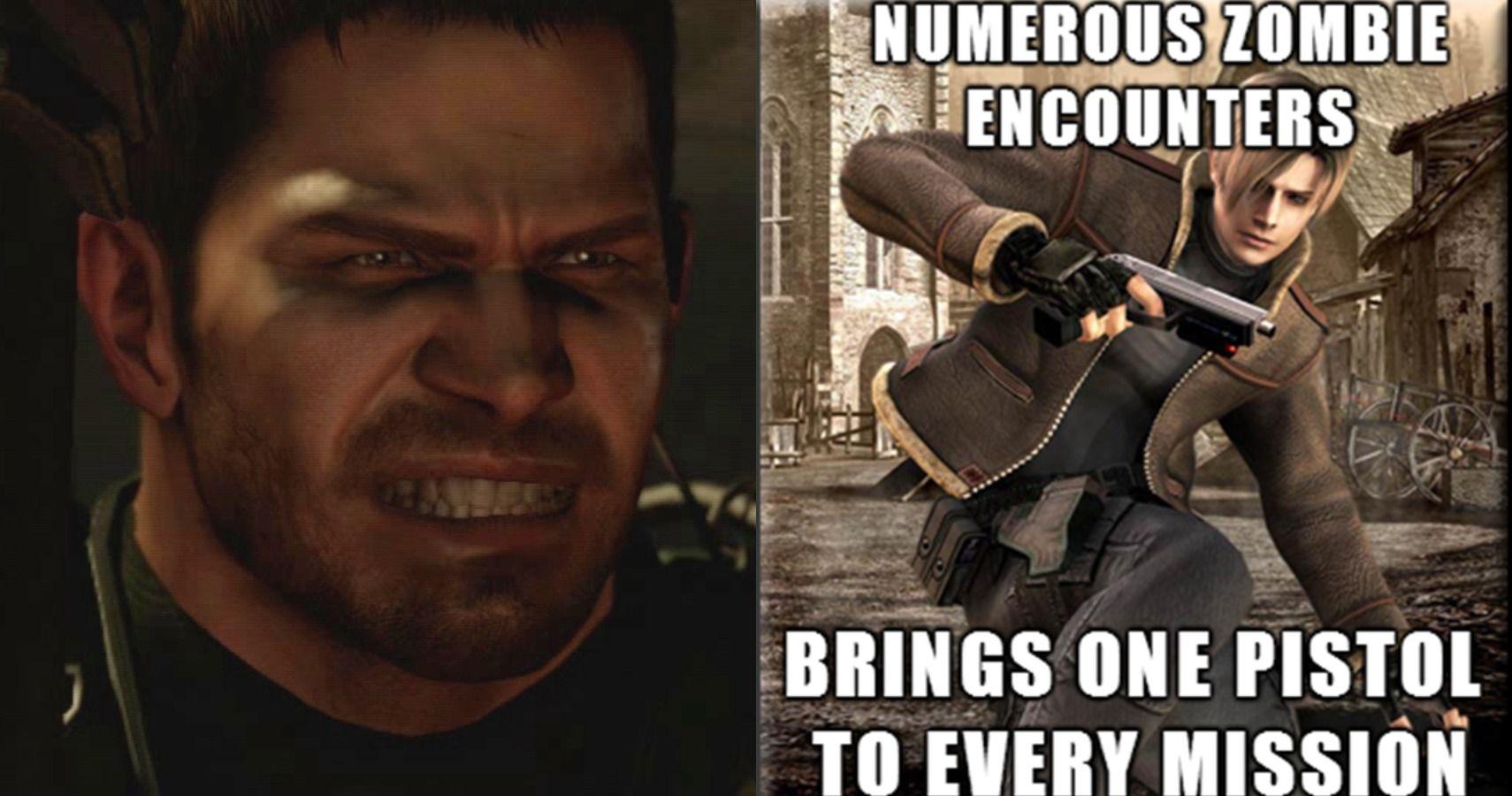 10 Resident Evil Memes That Prove The Games Make No Sense